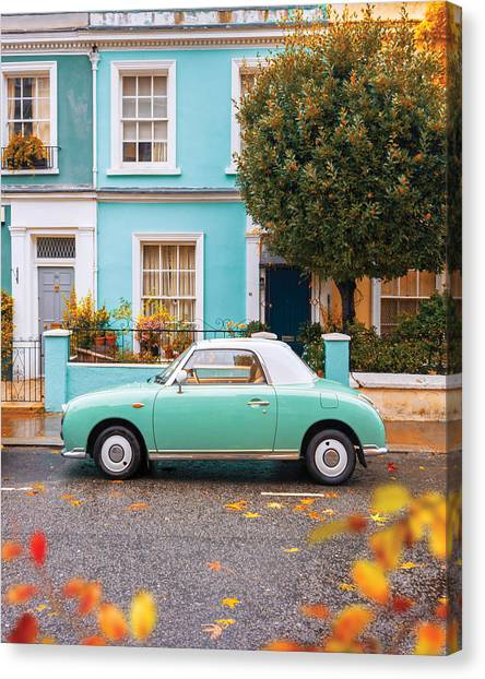 Notting Hill Vibes Canvas Print