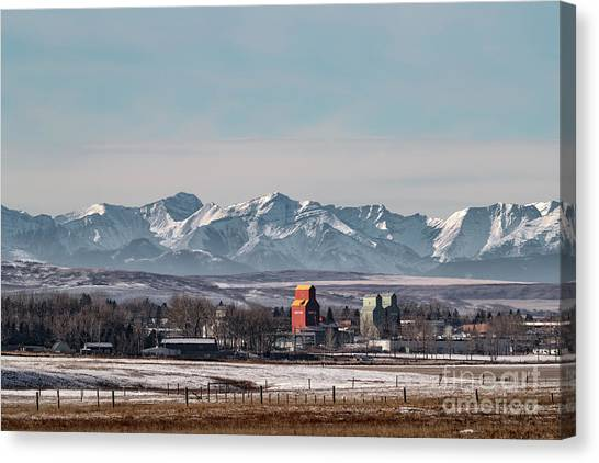 November Nanton Canvas Print