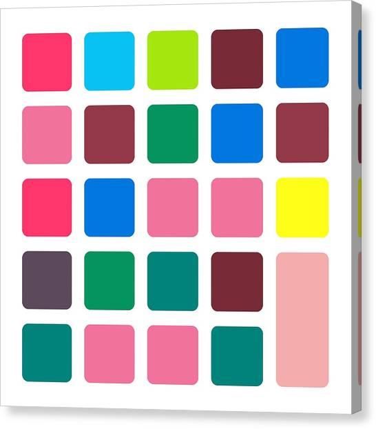 Nucle... Block Canvas Print