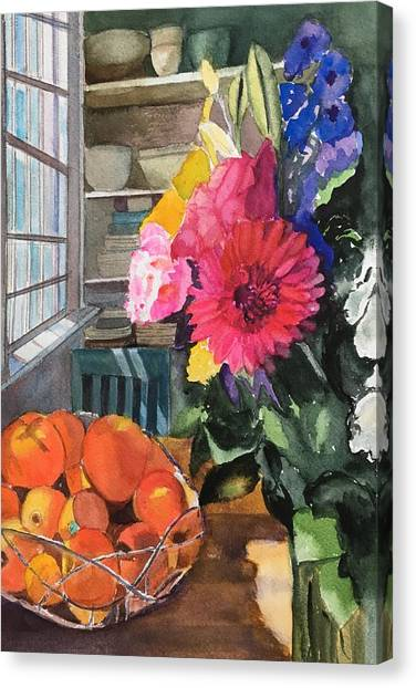 Oak Bluffs Kitchen Canvas Print