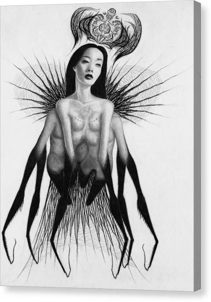 Oblivion Queen - Artwork Canvas Print