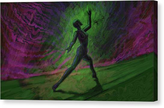 Obscured Dance Canvas Print