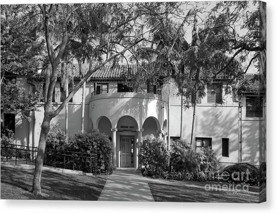 Occidental College Erdman Hall Canvas Print by University Icons