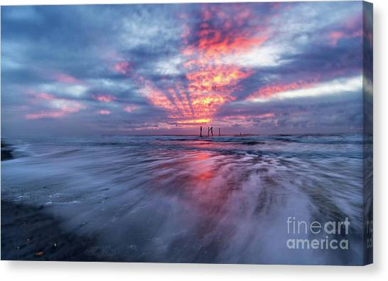 Ocean City Lights Canvas Print