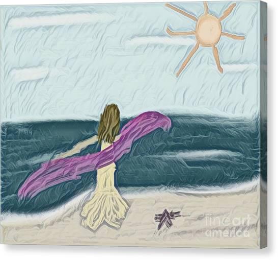 Ocean Dance Canvas Print