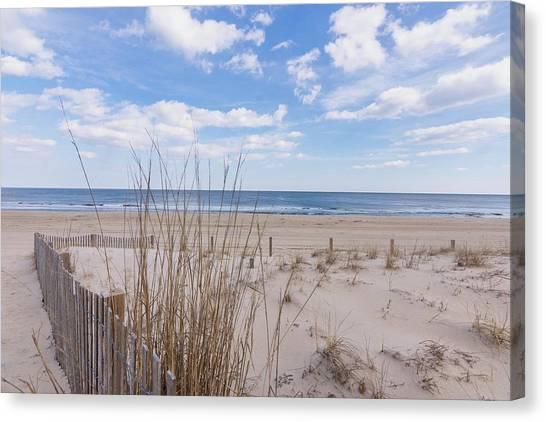 Canvas Print - Ocean Dune by Charles Kraus