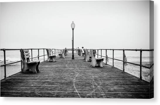 Ocean Grove Pier 1 Canvas Print