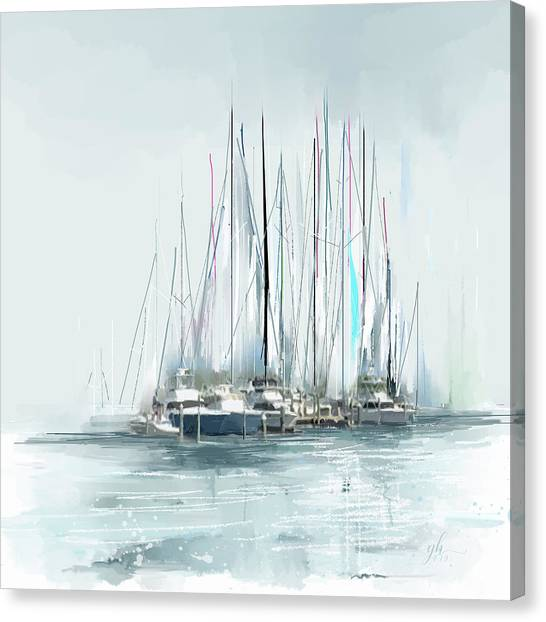 Oceana Idyll Canvas Print