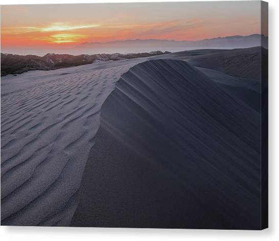 Oceano Dunes Sunset Canvas Print