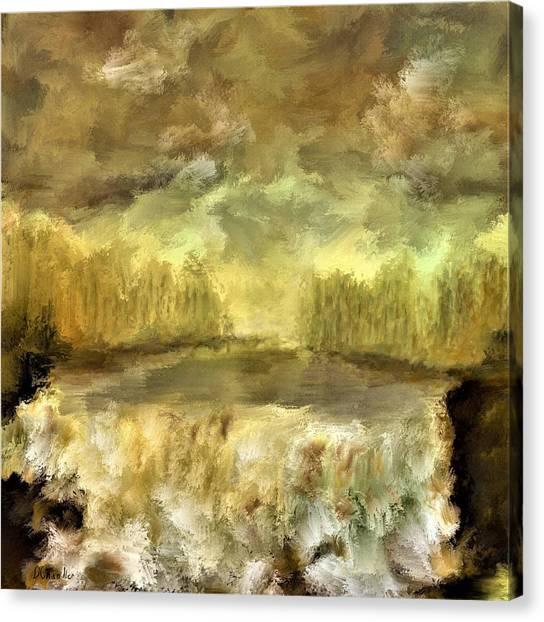 October At The Falls Canvas Print