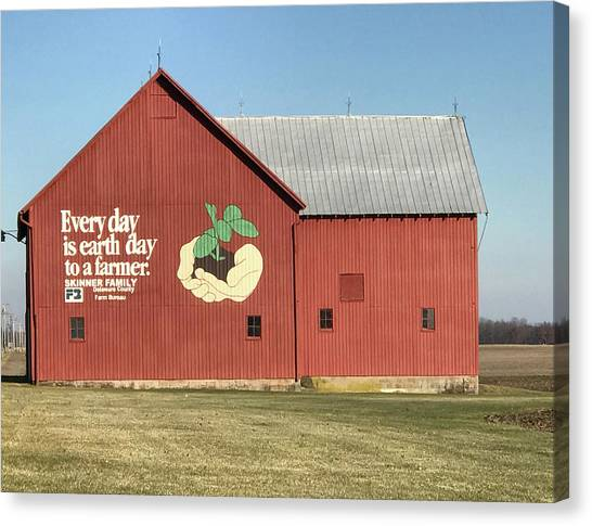 Ohio Barn  Canvas Print