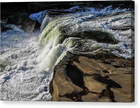 Ohiopyle Falls 1 Canvas Print
