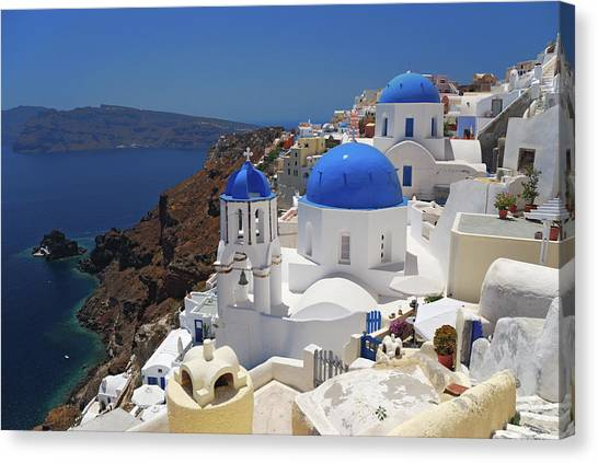 Oia - Santorini - Greece Canvas Print