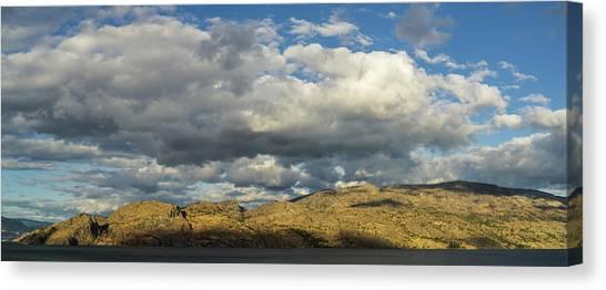 Okanagan Mountain Panorama Canvas Print