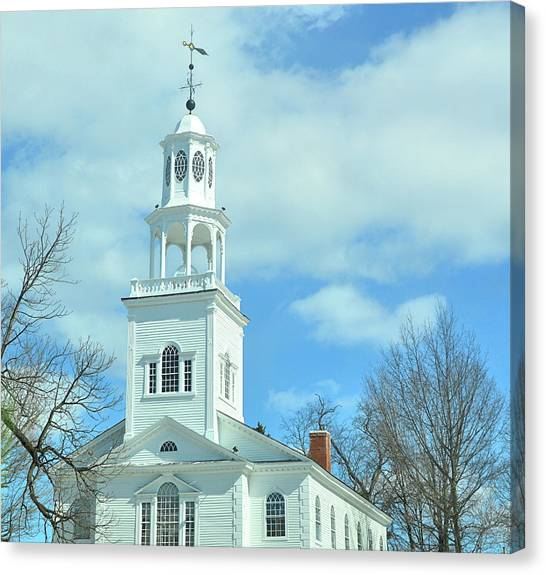 Old First Church Canvas Print by JAMART Photography