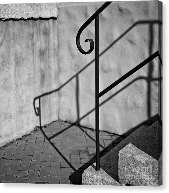 Canvas Print featuring the photograph Old Steps by Patrick M Lynch