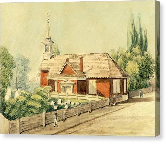 Old Swedes' Church, Southwark, Philadelphia Canvas Print