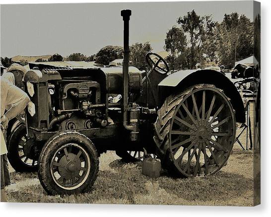 Ye Old Tractor Canvas Print