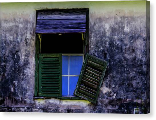 Old Window 2 Canvas Print