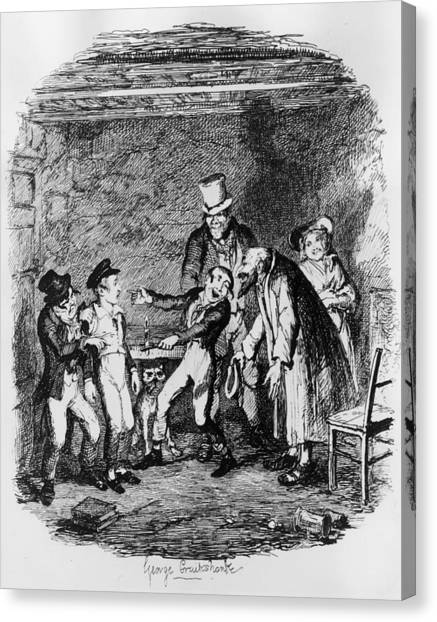 Oliver Twist Canvas Print by Hulton Archive