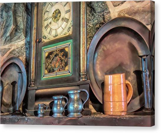 On The Mantle Canvas Print
