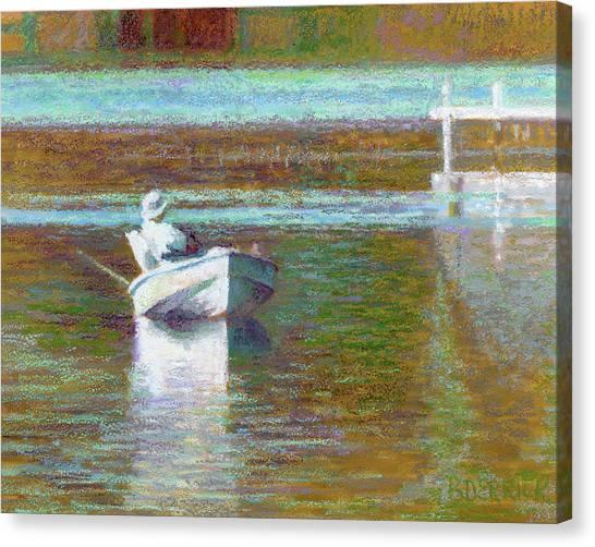 On The Pond Print Canvas Print