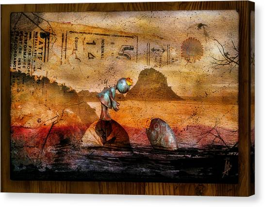 Fairytale Canvas Print - Once Upon A Time by Mario Sanchez Nevado