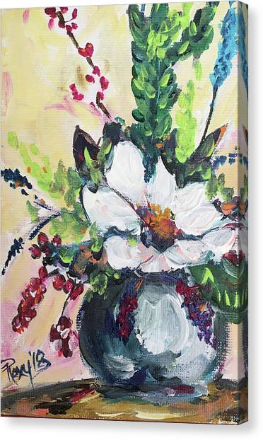Farmhouse Canvas Print - Bloom by Roxy Rich