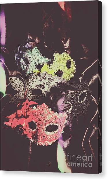 Masquerade Canvas Print - Operatic Quintet  by Jorgo Photography - Wall Art Gallery