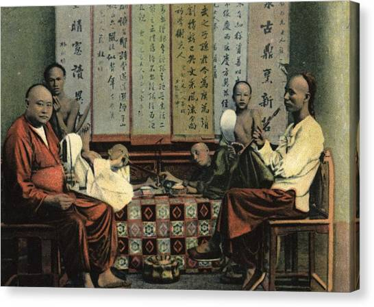 Opium Den Canvas Print by Hulton Archive