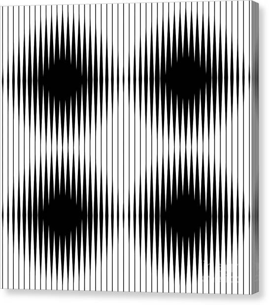 Texture Canvas Print - Optical Illusion by Traffico