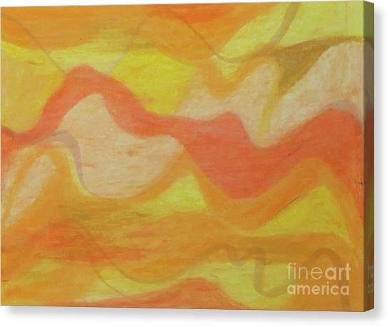 Orange Colors 1 Canvas Print