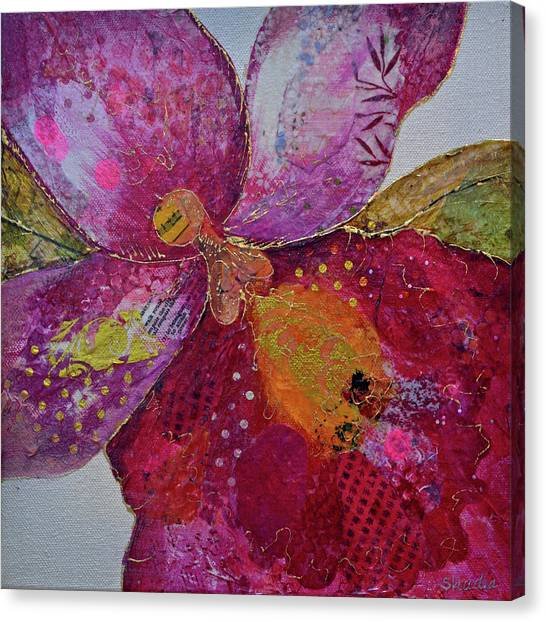 Magenta Canvas Print - Orchid Passion I by Shadia Derbyshire