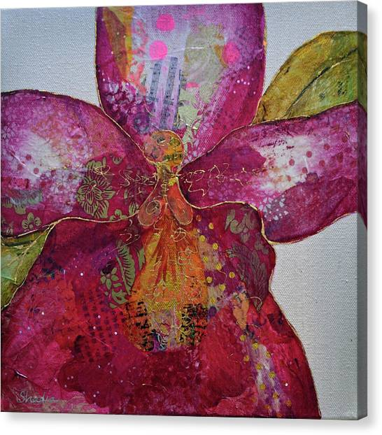 Magenta Canvas Print - Orchid Passion II by Shadia Derbyshire
