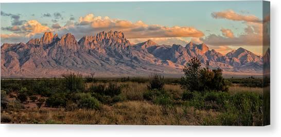 Organ Mountains, Las Cruces, New Mexico Canvas Print