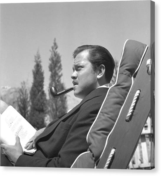 Orson Welles Canvas Print by Earl Theisen Collection