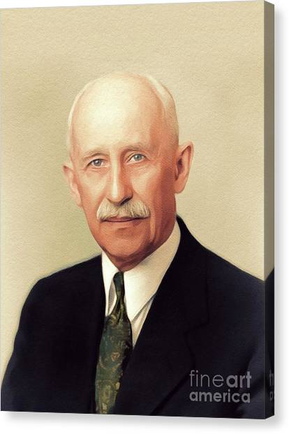 Aviators Canvas Print - Orville Wright, Aviator by John Springfield