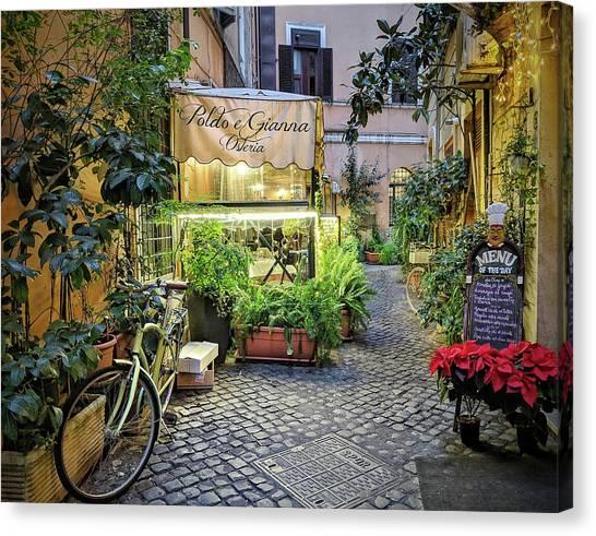 Osteria Roma - Jo Ann Tomaselli Canvas Print