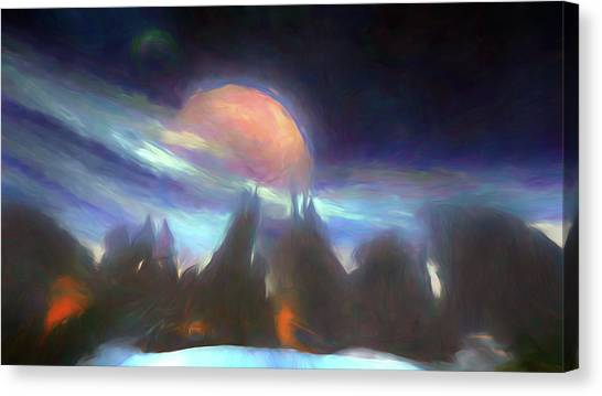 Other Worlds II Canvas Print