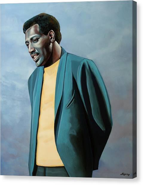Ca Canvas Print - Otis Redding Painting by Paul Meijering