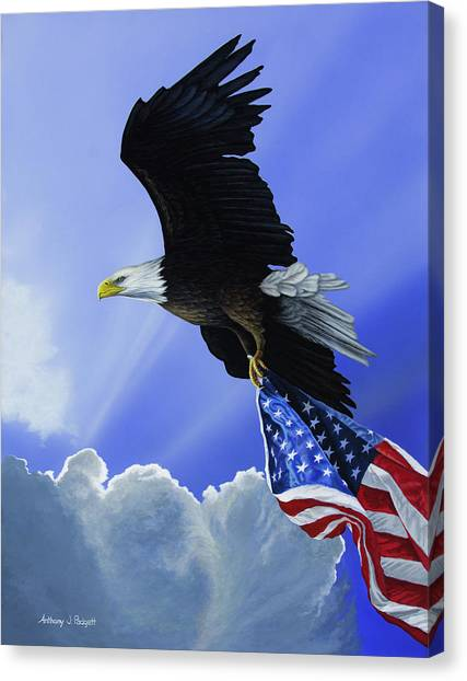 Our Glory Canvas Print