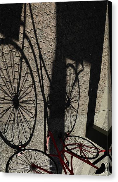 Canvas Print - Our Time In Shadows by The Artist Project