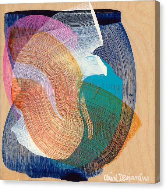 Canvas Print - Out Of The Blue 07 by Claire Desjardins