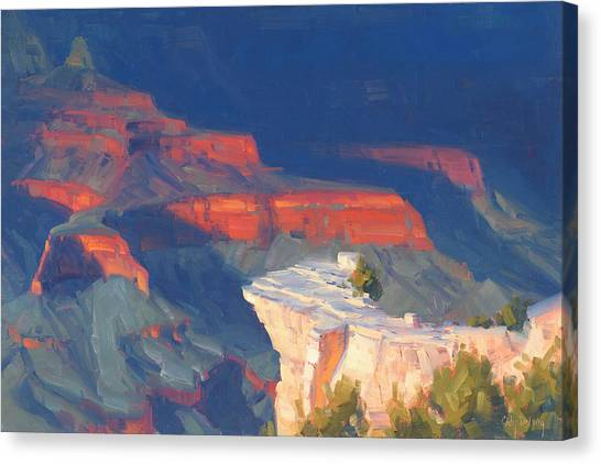 Grand Canyon Canvas Print - Out Of The Darkness by Cody DeLong