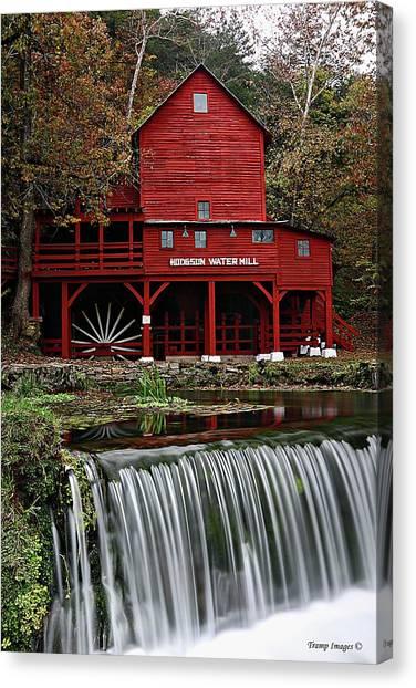 Ozarks Mill Canvas Print