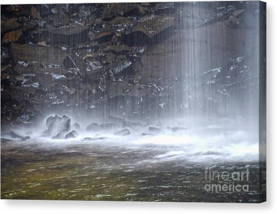 Ozone Falls 12 Canvas Print