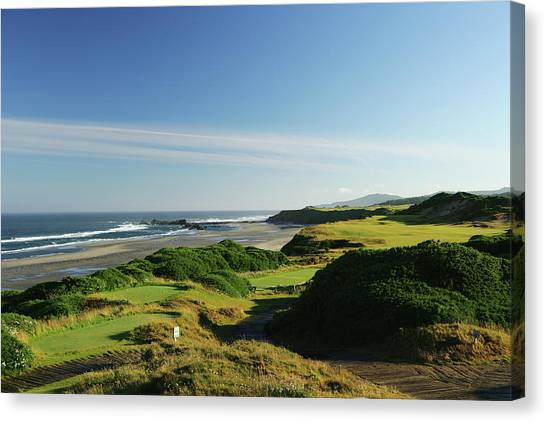 Pacific Dunes  13th Canvas Print