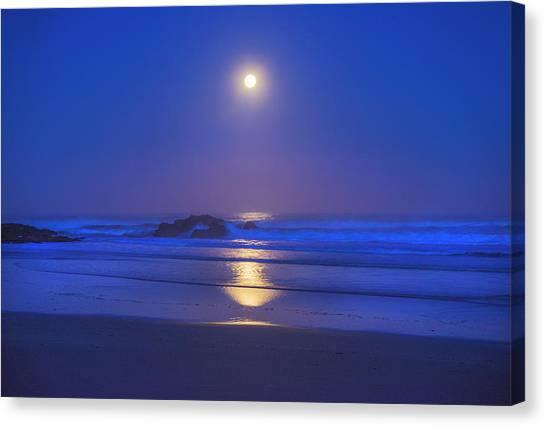 Pacific Moon Canvas Print