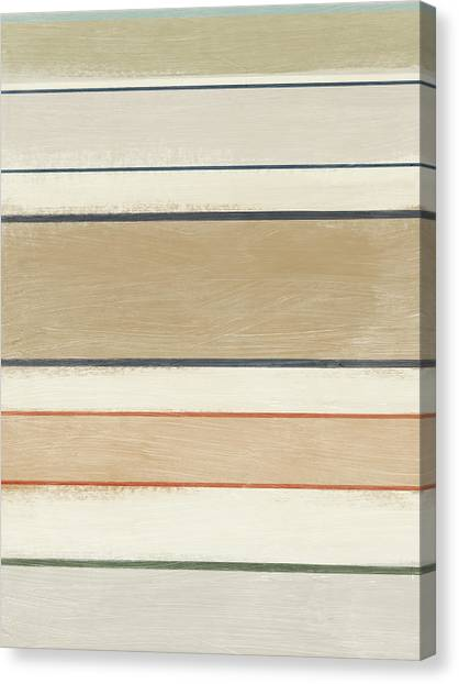 Stripe Canvas Print - Pages 2- Art By Linda Woods by Linda Woods
