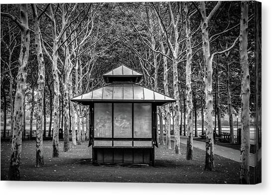 Canvas Print featuring the photograph Pagoda by Steve Stanger
